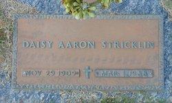 Daisy <I>Aaron</I> Stricklin