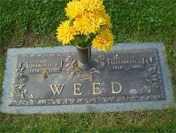 Harold Paul Weed