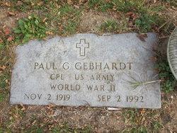 Paul G Gebhardt