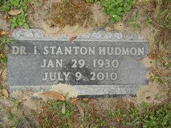 "Dr I Stanton ""Stan"" Hudmon"