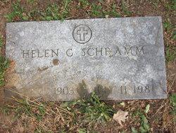Helen C Schramm