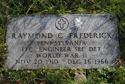 Raymond C Frederick