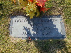 Dorothy <I>Hingerty</I> Minor