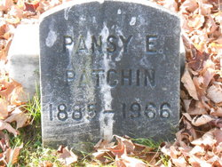 Pansy E Patchin