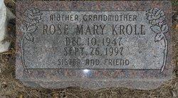 Rose Mary <I>Green</I> Kroll