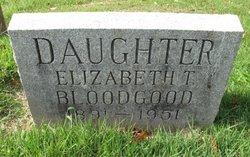 Elizabeth T. Bloodgood