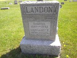 Margaret Ellen <I>Philabaum</I> Landon