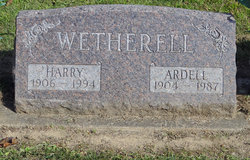 Harry Wetherell
