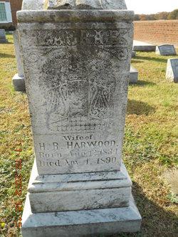 Laura B <I>Moss</I> Harwood