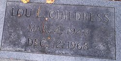 Lou Earl Childress