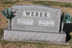 Royda May <I>Strobel</I> Weber