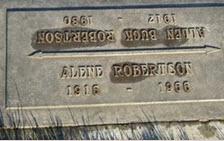 Aline V <I>Weaver</I> Robertson