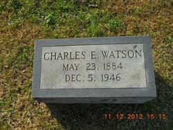 Charles E Watson