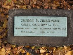 Corp George B. Geissinger