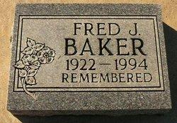Fred J Baker