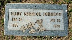 Mary Bernice Johnson