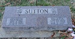 Willetta <I>Baumgaertner</I> Sutton