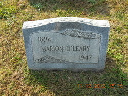 Marion O'Leary