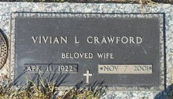 Vivian Maureen <I>Lowery</I> Crawford