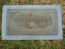 "Betty ""Bessie"" <I>Rabinowitz</I> Nudelman"