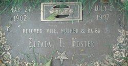 Elzada Isobel <I>Taylor</I> Foster