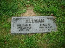 Elsie Wanda <I>Arner</I> Allman