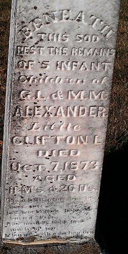 Clifton L Alexander