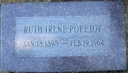 Ruth Irene <I>Rice</I> Popejoy