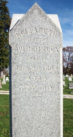 Elizabeth <I>Jack</I> Berkley