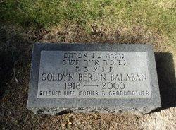 Goldyn <I>Berlin</I> Balaban