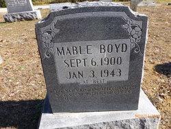 Dorothy Mable <I>Armstrong</I> Boyd