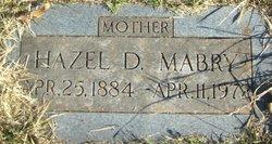 Hazel D Mabry