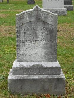 Patrick F Crotty