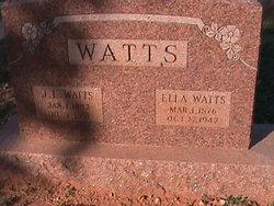 Ella <I>Driskill</I> Watts