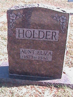 "Eliza ""Aunt Eliza"" <I>Case</I> Holder"