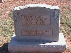 Odie Pearl <I>Poer</I> Garrett
