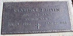 Clarence J Heyen