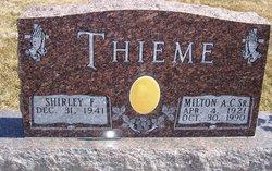 Milton Andrew  Christian Thieme, Sr