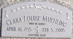 Clara Louise <I>Potthoff</I> Muehling