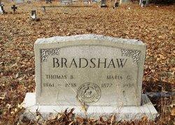Maria <I>Gainey</I> Bradshaw