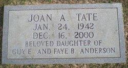 Joan <I>Anderson</I> Tate