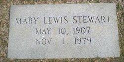 Mary <I>Lewis</I> Stewart