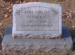 Erma Cowline <I>Taylor</I> King