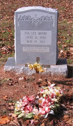 Eva Lee <I>Woodson</I> Mosby