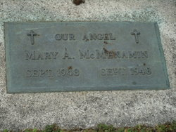 Mary A McMenamin