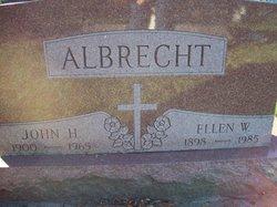 "Caroline Wilhelmina Theresia ""Ellen"" <I>Lackner</I> Albrecht"