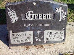 Thelma C Green