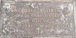 """Zene """"Dale"""" Bohrer, Jr"""