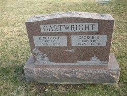 """Dorothy F """"Dolly"""" <I>Webb</I> Cartwright"""