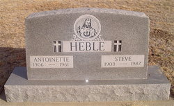 Antoinette Lucille <I>Dvorak</I> Heble